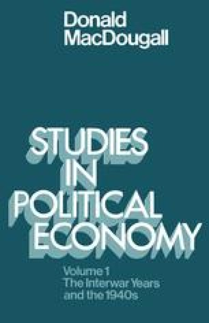 Studies in Political Economy