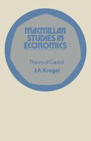 Theory of Capital