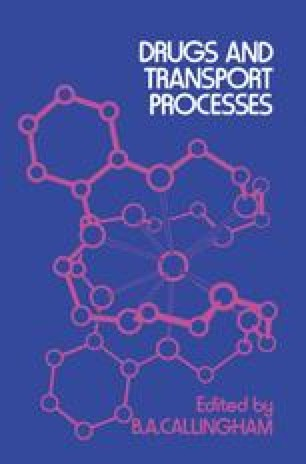 Drugs and Transport Processes