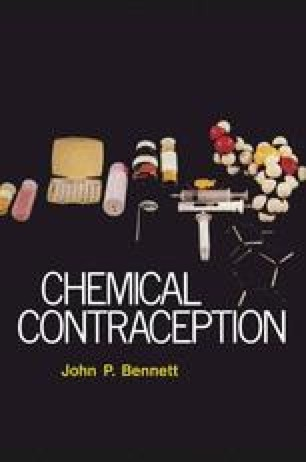 Chemical Contraception