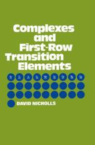 Complexes and First-Row Transition Elements