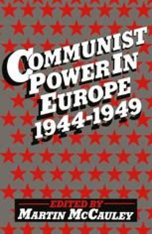 Communist Power in Europe 1944–1949