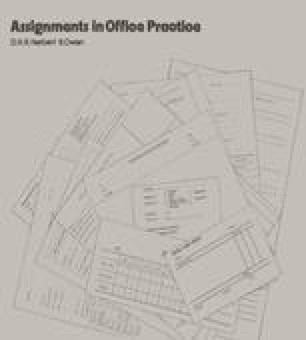 Assignments in Office Practice