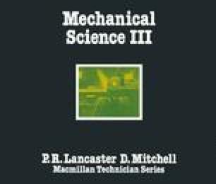 Mechanical Science III