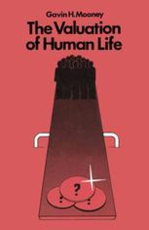 The Valuation of Human Life