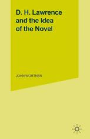 D. H. Lawrence and the Idea of the Novel