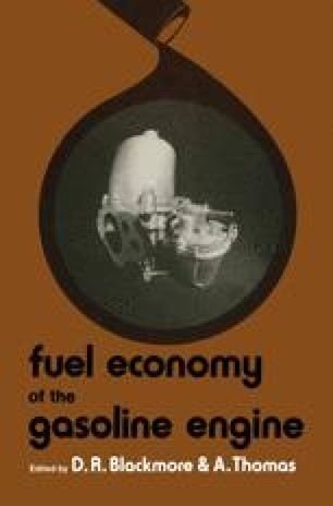 Fuel Economy of the Gasoline Engine
