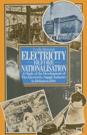 Electricity before Nationalisation