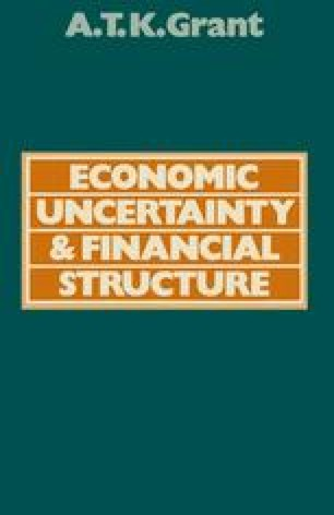 Economic Uncertainty and Financial Structure