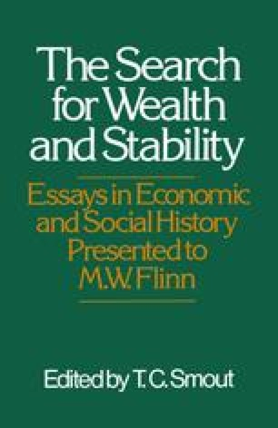 The Search for Wealth and Stability