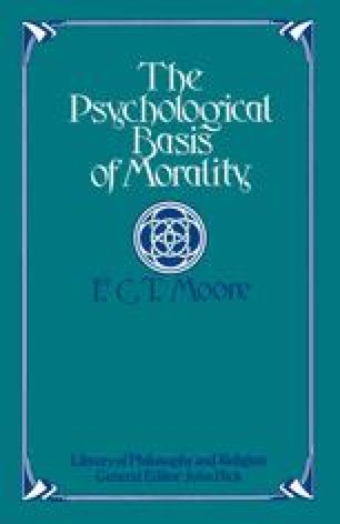 The Psychological Basis of Morality