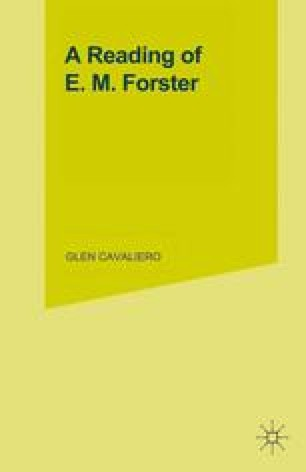 A Reading of E. M. Forster