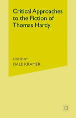 Critical Approaches to the Fiction of Thomas Hardy