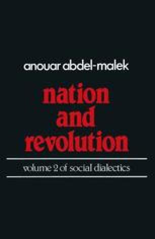 Nation and Revolution