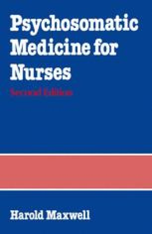 Psychosomatic Medicine for Nurses