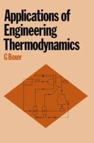 Applications of Engineering Thermodynamics