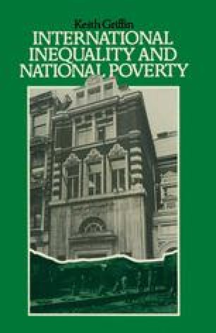 International Inequality and National Poverty