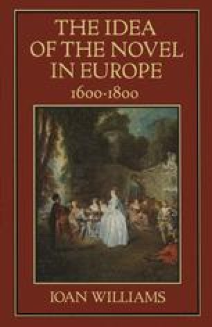 The Idea of the Novel in Europe, 1600–1800