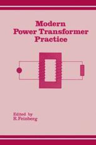 Modern Power Transformer Practice
