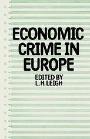Economic Crime in Europe