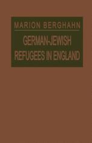 German-Jewish Refugees in England