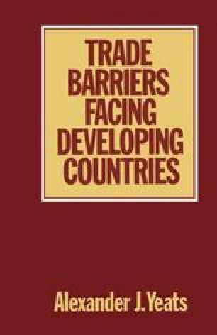 Trade Barriers Facing Developing Countries
