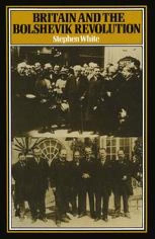 Britain and the Bolshevik Revolution