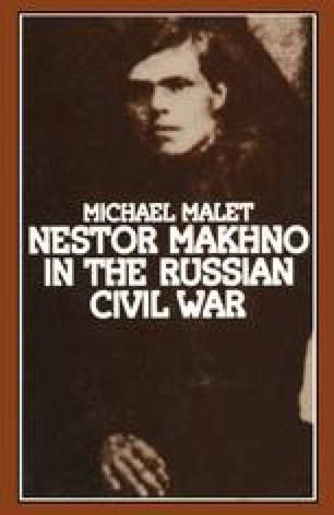 Nestor Makhno in the Russian Civil War