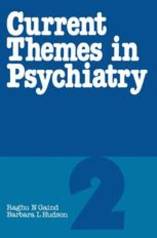 Current Themes in Psychiatry 2