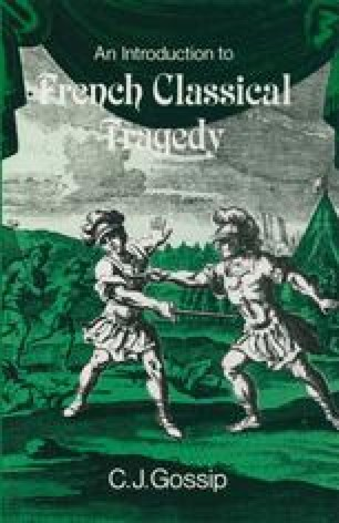 An Introduction to French Classical Tragedy