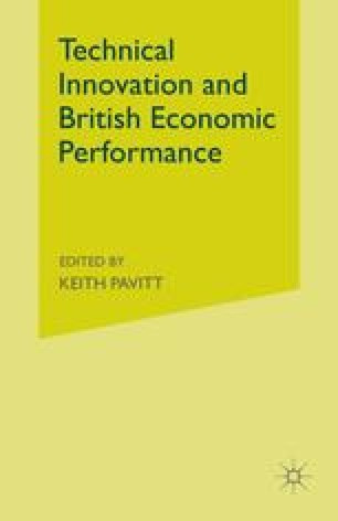 Technical Innovation and British Economic Performance