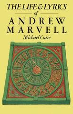 The Life and Lyrics of Andrew Marvell