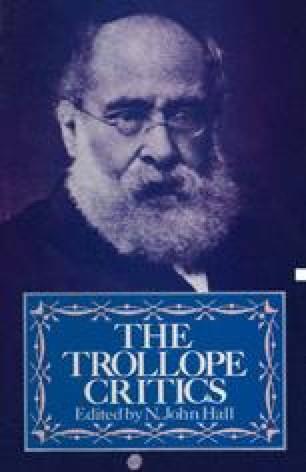 The Trollope Critics