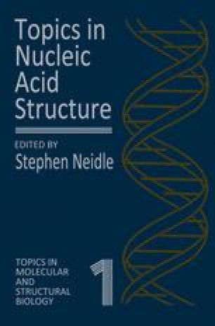 Topics in Nucleic Acid Structure