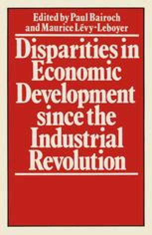 Disparities in Economic Development since the Industrial Revolution