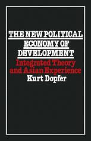 The New Political Economy of Development