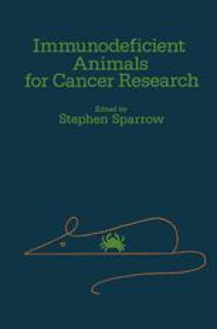 Immunodeficient Animals for Cancer Research