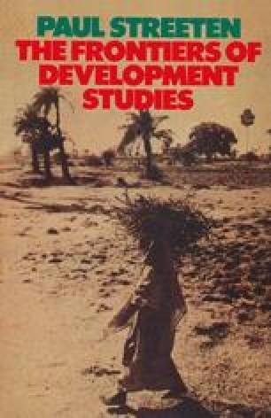 The Frontiers of Development Studies