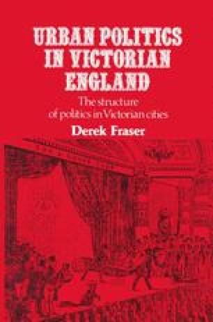 Urban Politics in Victorian England
