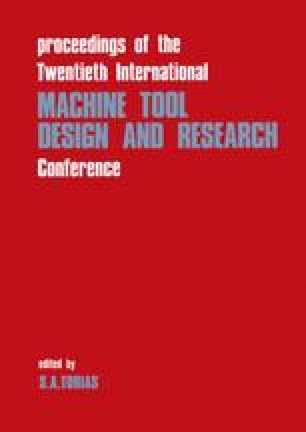 Proceedings of the Twentieth International Machine Tool Design and Research Conference