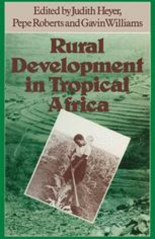Rural Development in Tropical Africa