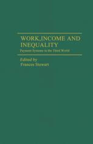 Work, Income and Inequality