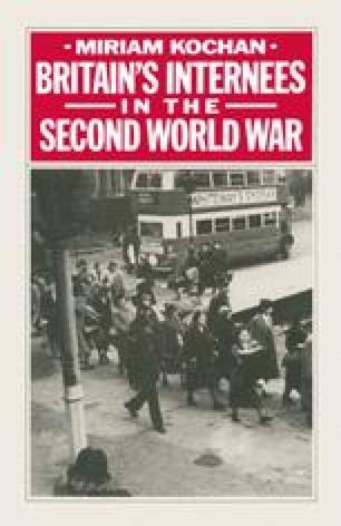 Britain's Internees in the Second World War