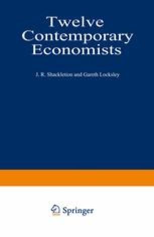 Twelve Contemporary Economists