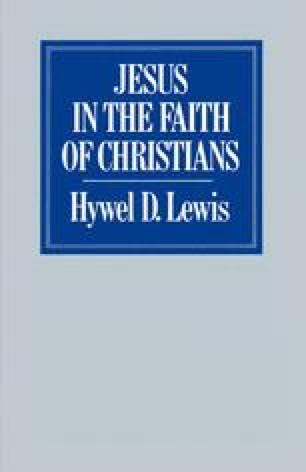 Jesus in the Faith of Christians