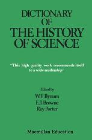 Dictionary of the History of Science