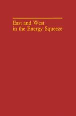 East and West in the Energy Squeeze