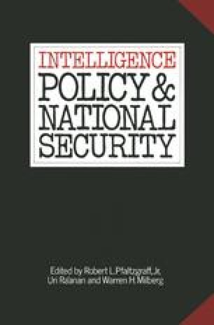 Intelligence Policy and National Security