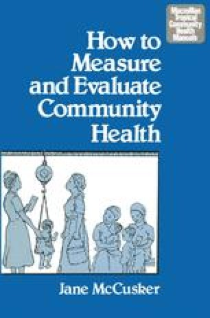 How to Measure and Evaluate Community Health