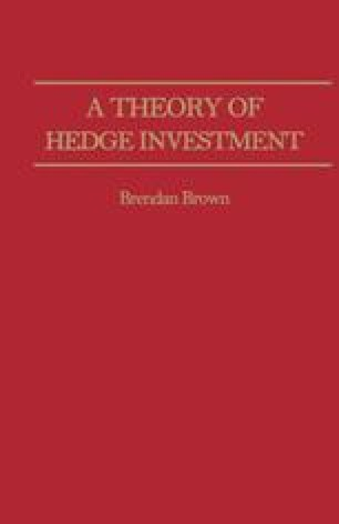 A Theory of Hedge Investment